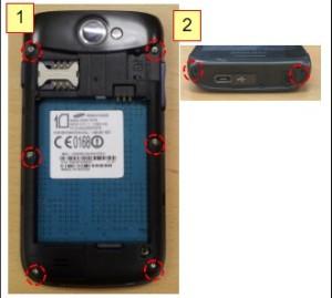Cara buka casing Samsung Galaxy W_
