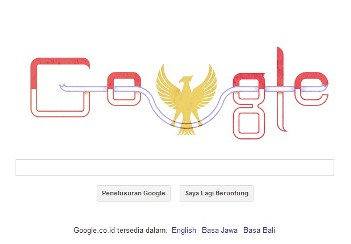 Dirgahayu RI ke-68 by Google