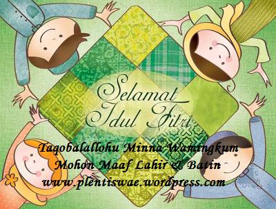 Selamat Idul Fitri by plentiswae