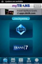 Nonton TV di Android