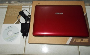 Jual netbook asus + data